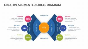 Creative Segmented Circle Diagram