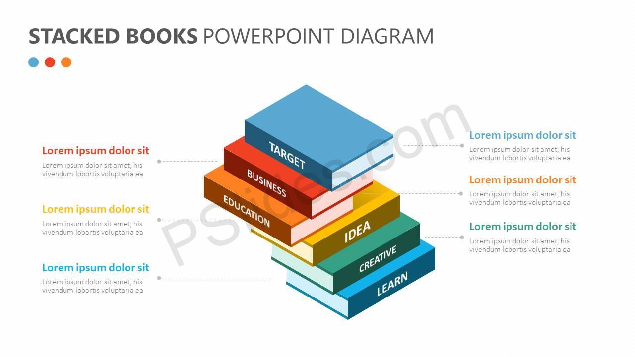 Stacked-Books-PowerPoint-Diagram-Slide1