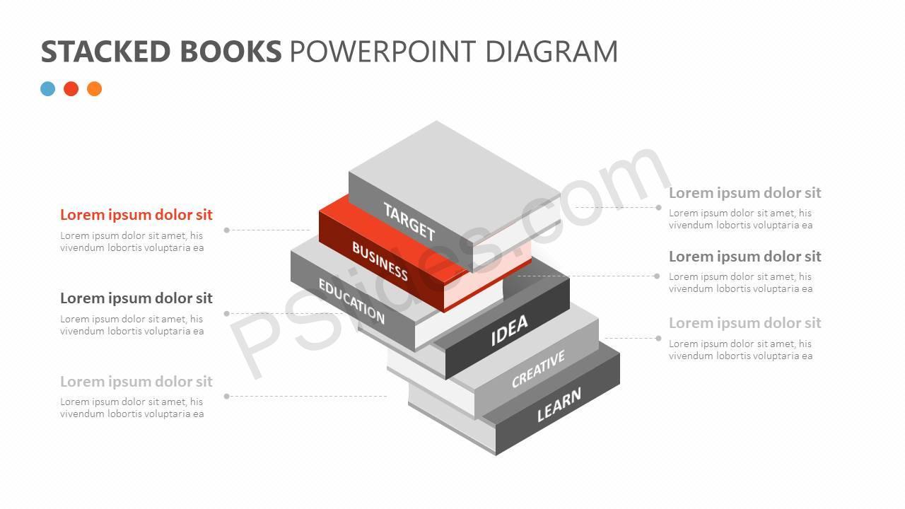 Stacked-Books-PowerPoint-Diagram-Slide2