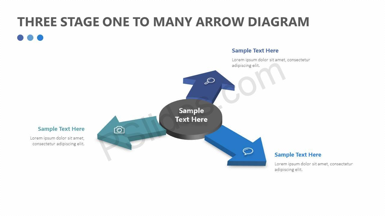 Three-Stage-One-to-Many-Arrow-Diagram-Slide1