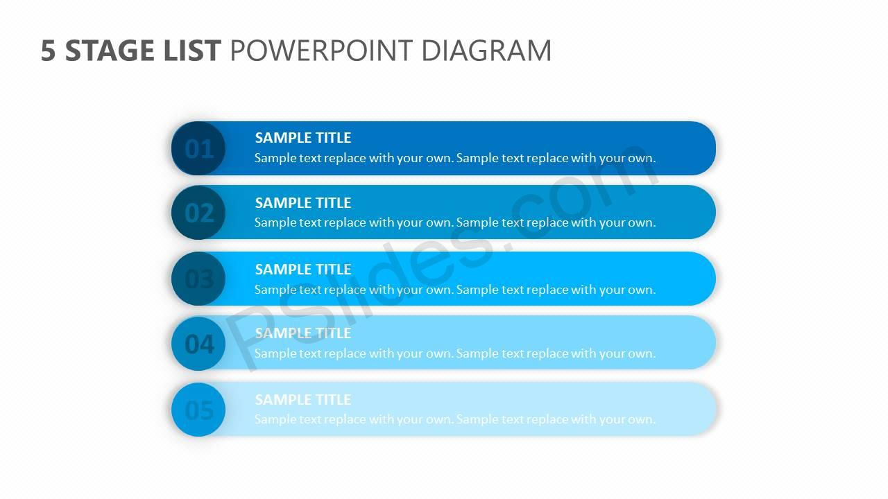 5-Stage-List-for-PowerPoint-Slide1