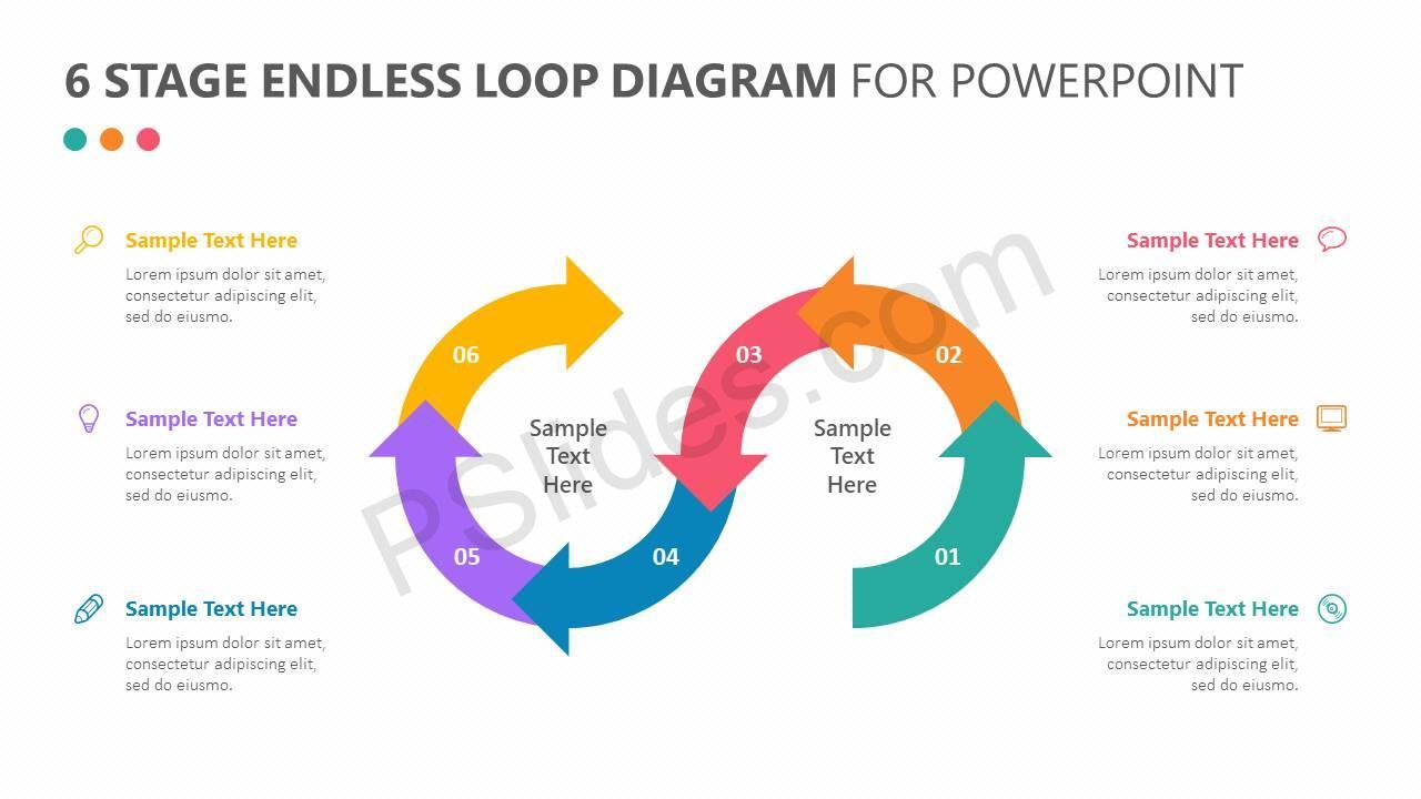 6-Stage-Endless-Loop-Diagram-for-PowerPoint-Slide1