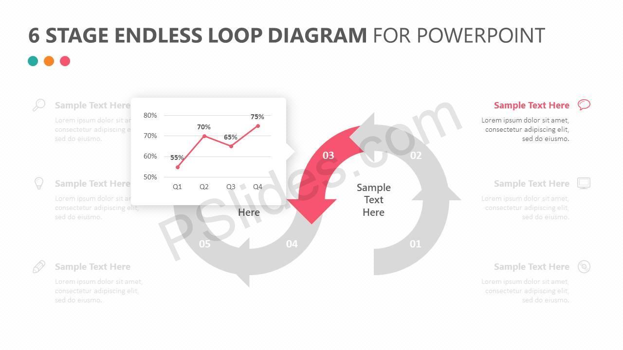 6-Stage-Endless-Loop-Diagram-for-PowerPoint-Slide3