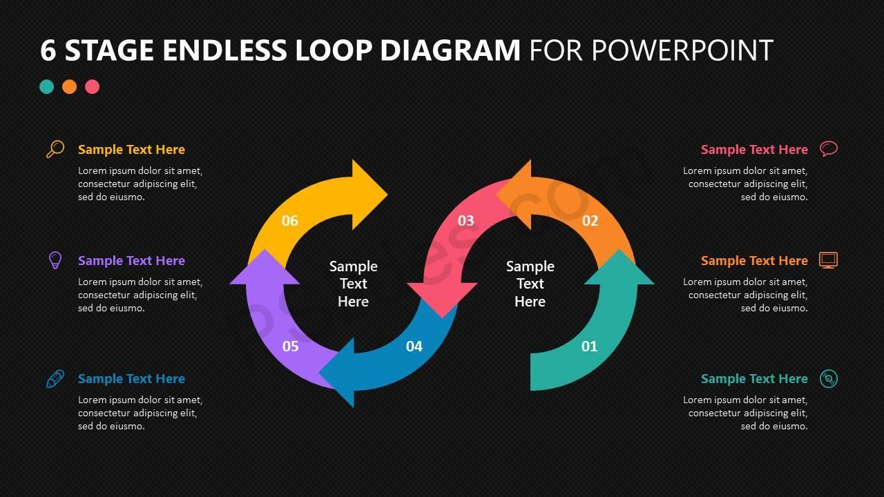 6-Stage-Endless-Loop-Diagram-for-PowerPoint-Slide4