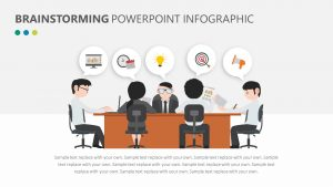 Brainstorming PowerPoint Infographic