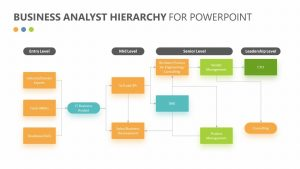 Business Analyst Hierarchy for PowerPoint