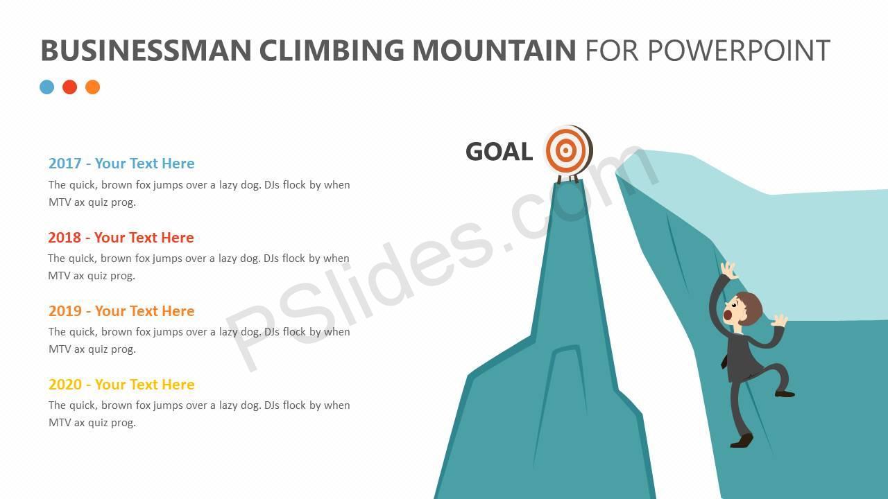 Businessman-Climbing-Mountain-PPT-Slide2
