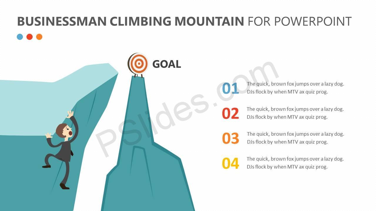 Businessman-Climbing-Mountain-PPT-Slide3