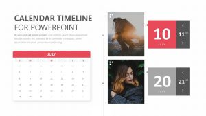 Calendar Timeline for PowerPoint