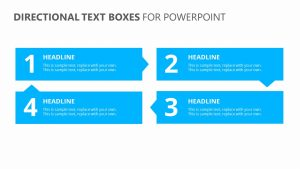 Directional Text Boxes for PowerPoint
