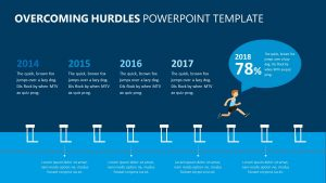 Overcoming Hurdles PowerPoint Template