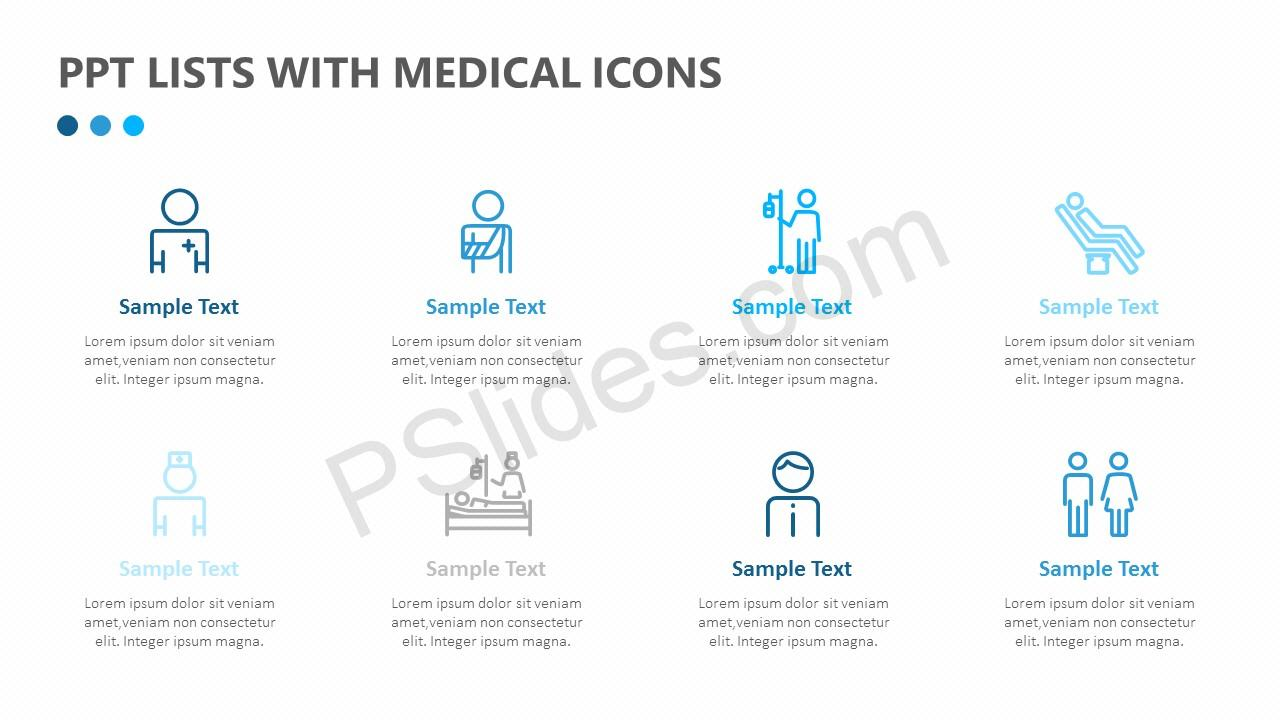 Medical List Text Boxes