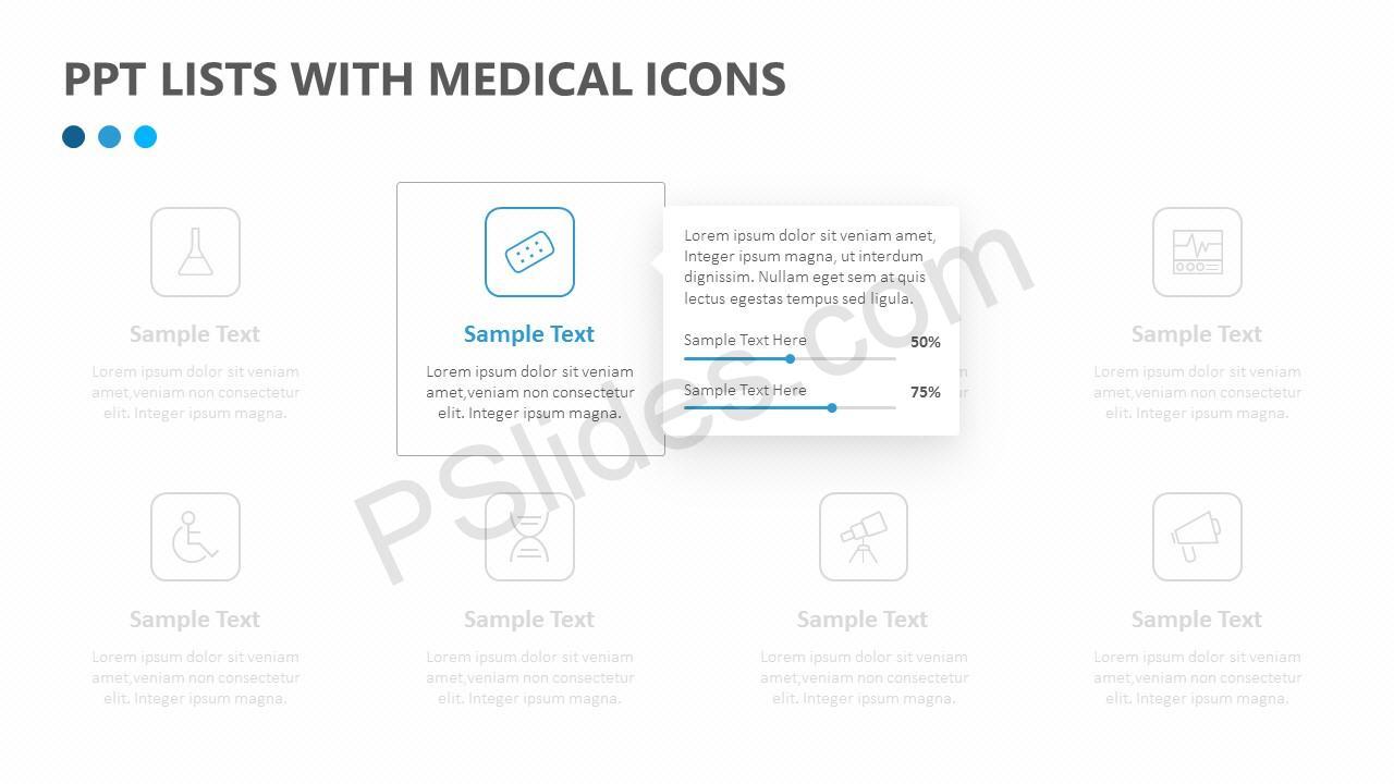 Medical Agenda List Slide 2