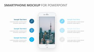 Smartphone Mockup for PowerPoint