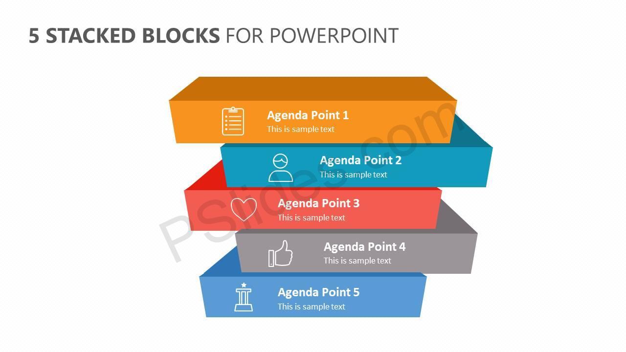 5-Stacked-Blocks-for-PowerPoint-Slide1