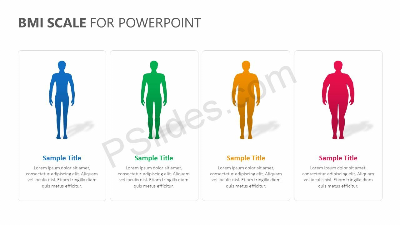 BMI Scale for PowerPoint Slide 3