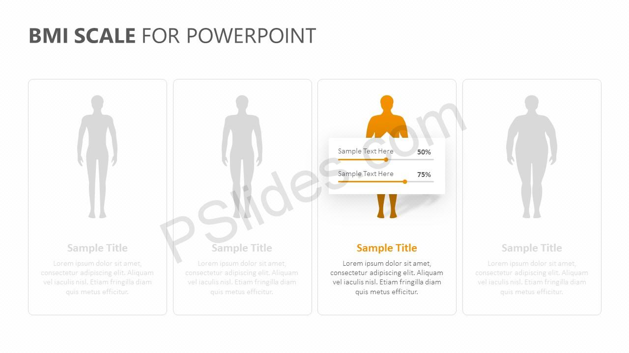 BMI Scale for PowerPoint Slide 4