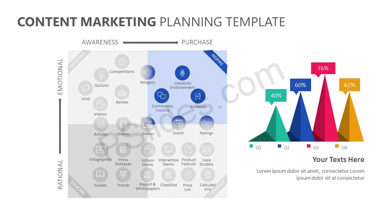 Content Marketing Planning Template Slide 2