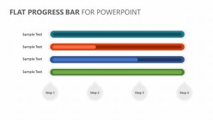 Flat Progress Bar for PowerPoint