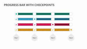 Progress Bar with Checkpoints