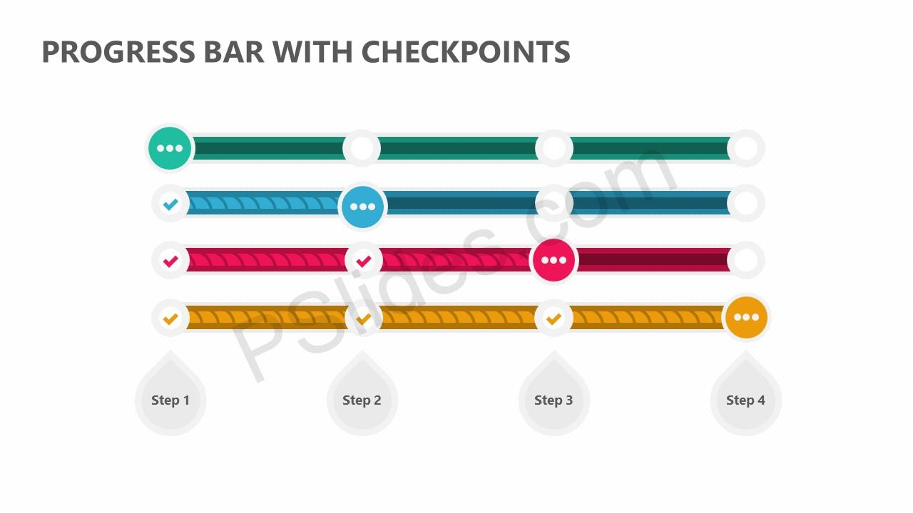 Progress Bar with Checkpoints Slide 2