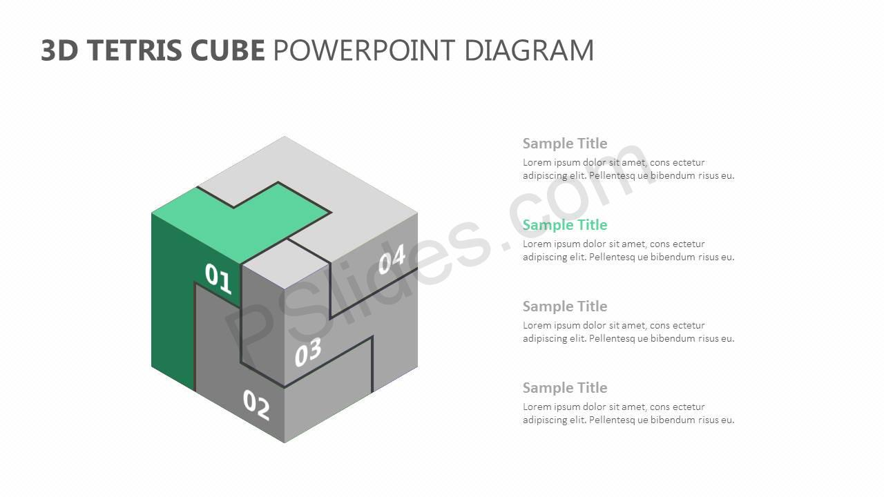 3D-Tetris-Cube-PowerPoint-Diagram-Slide2