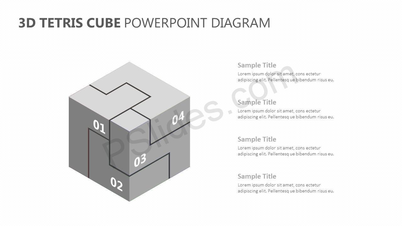 3D-Tetris-Cube-PowerPoint-Diagram-Slide3