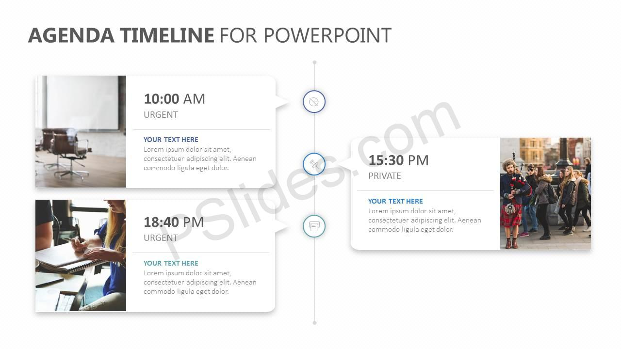 agenda timeline for powerpoint