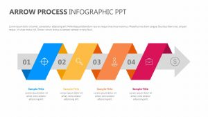 Arrow Process Infographic PPT