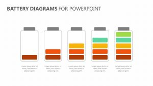 Battery Diagram for PowerPoint