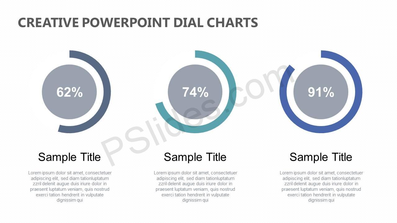 Creative-PowerPoint-Dial-Charts-Slide1