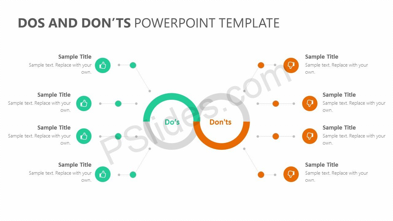 Dos and Don'ts PowerPoint Template