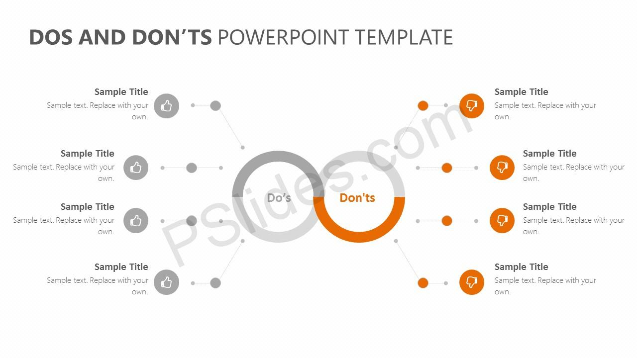 Dos and Don'ts PowerPoint Template Slide 3