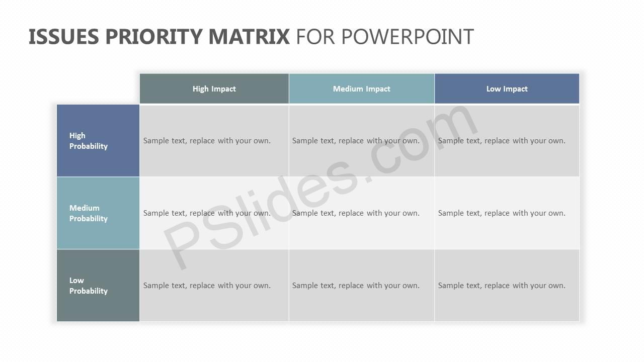 Issues-Priority-Matrix-for-PowerPoint-Slide1
