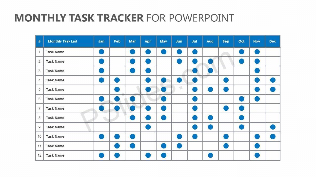 Monthly-Task-Tracker-for-PowerPoint-Slide1