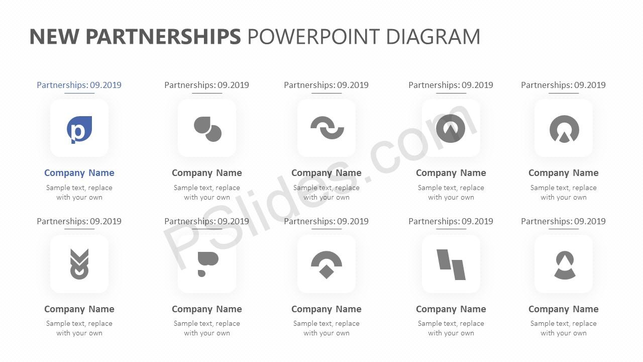 New Partnerships PowerPoint Template