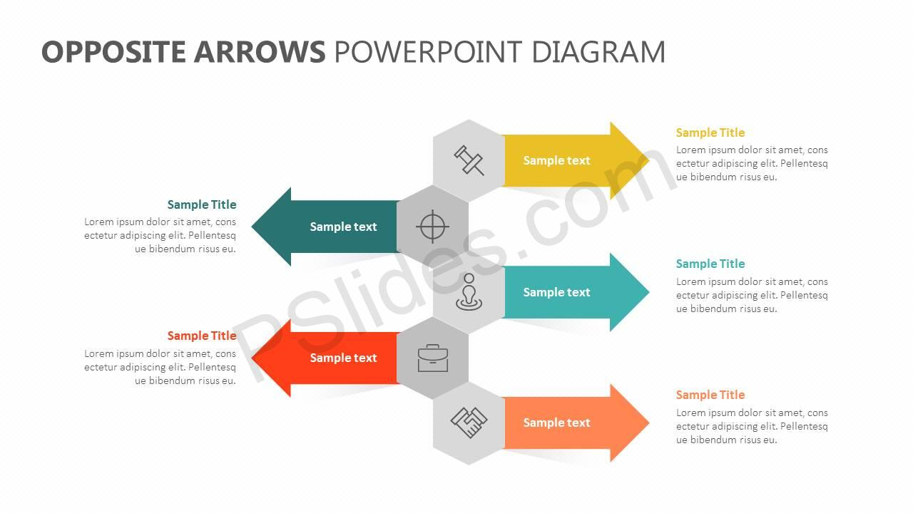 Opposite-Arrows-PowerPoint-Diagram-Slide1