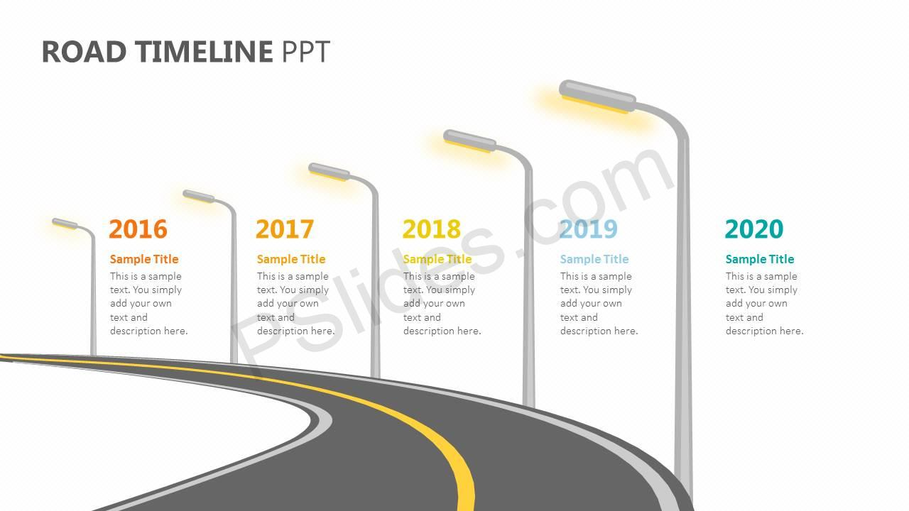 Road-Timeline-PPT-Slide1
