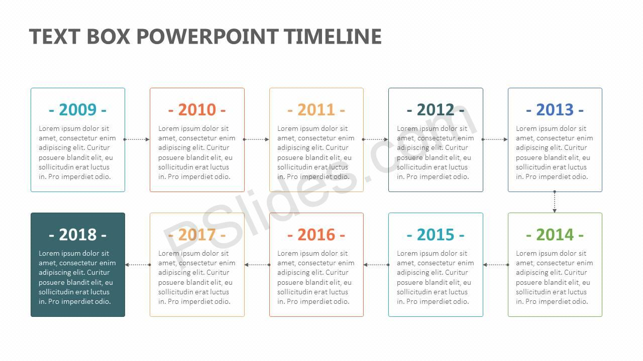 Text-Box-PowerPoint-Timeline-Slide11