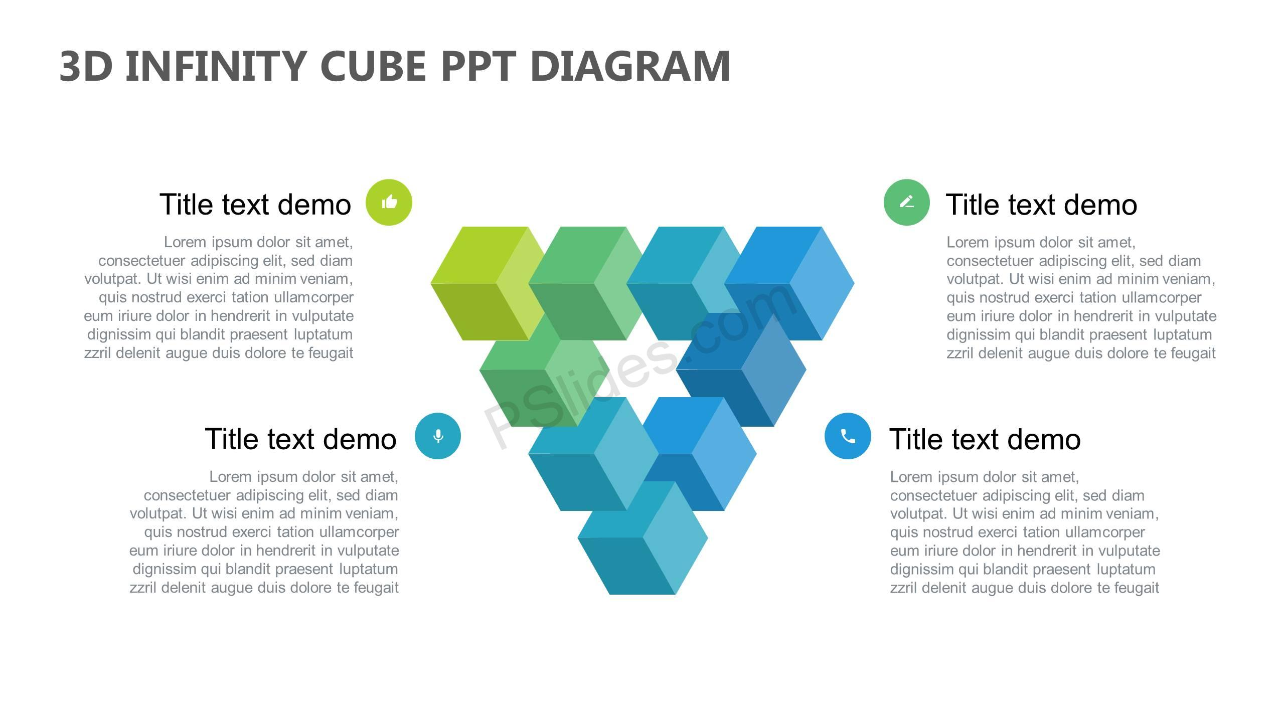 3D-Infinity-Cube-PowerPoint-Diagram-Slide1