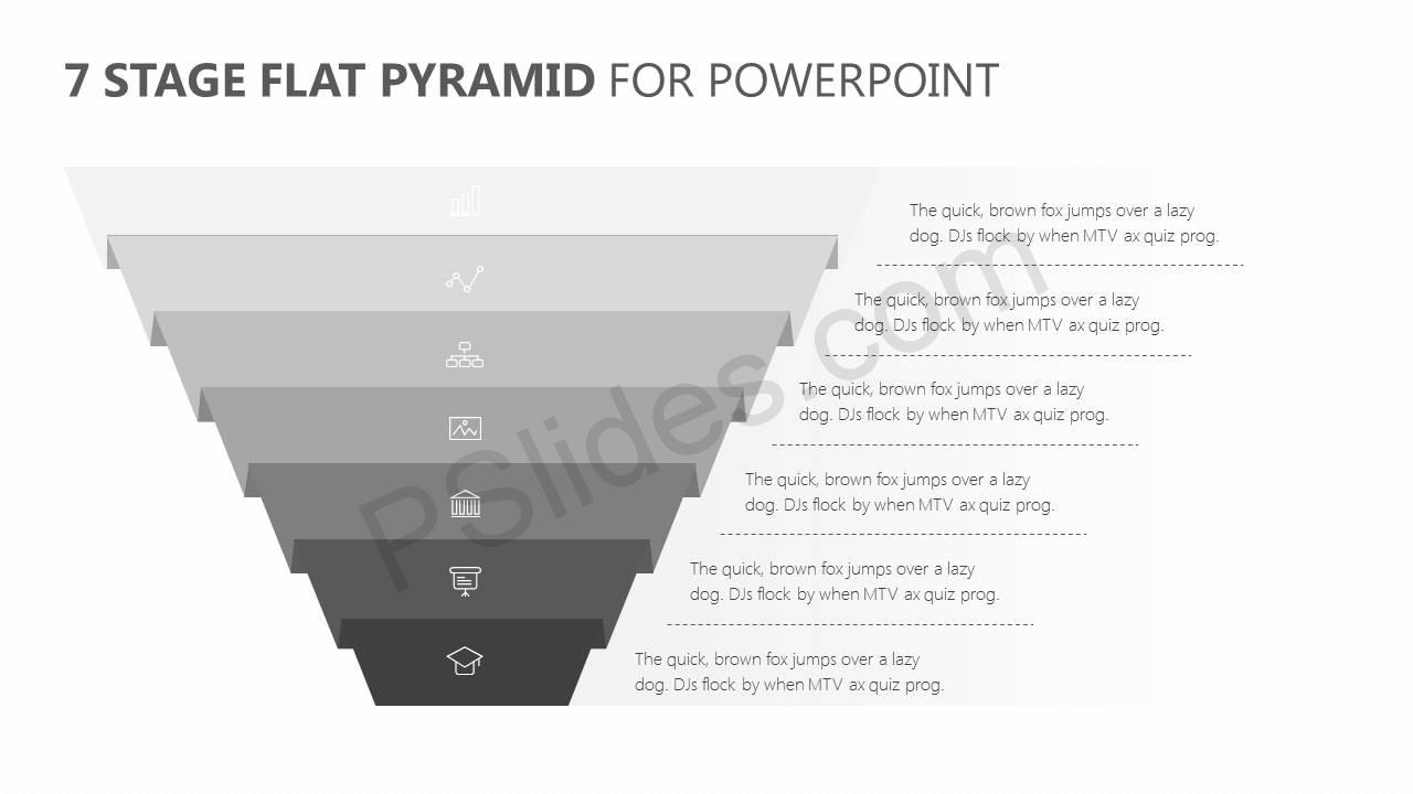 7-Stage-Flat-Pyramid-PowerPoint-Diagram-Slide2