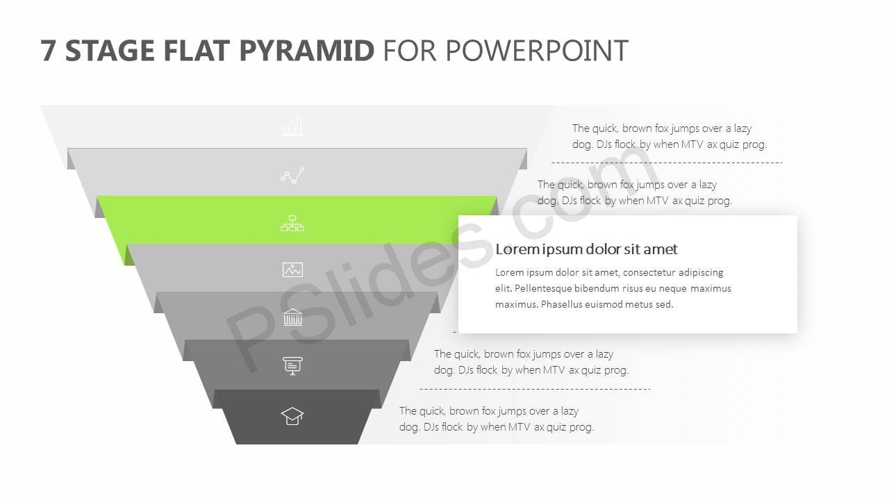 7-Stage-Flat-Pyramid-PowerPoint-Diagram-Slide3