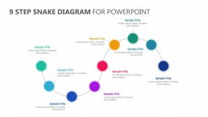 9 Stage Snake Diagram for PowerPoint