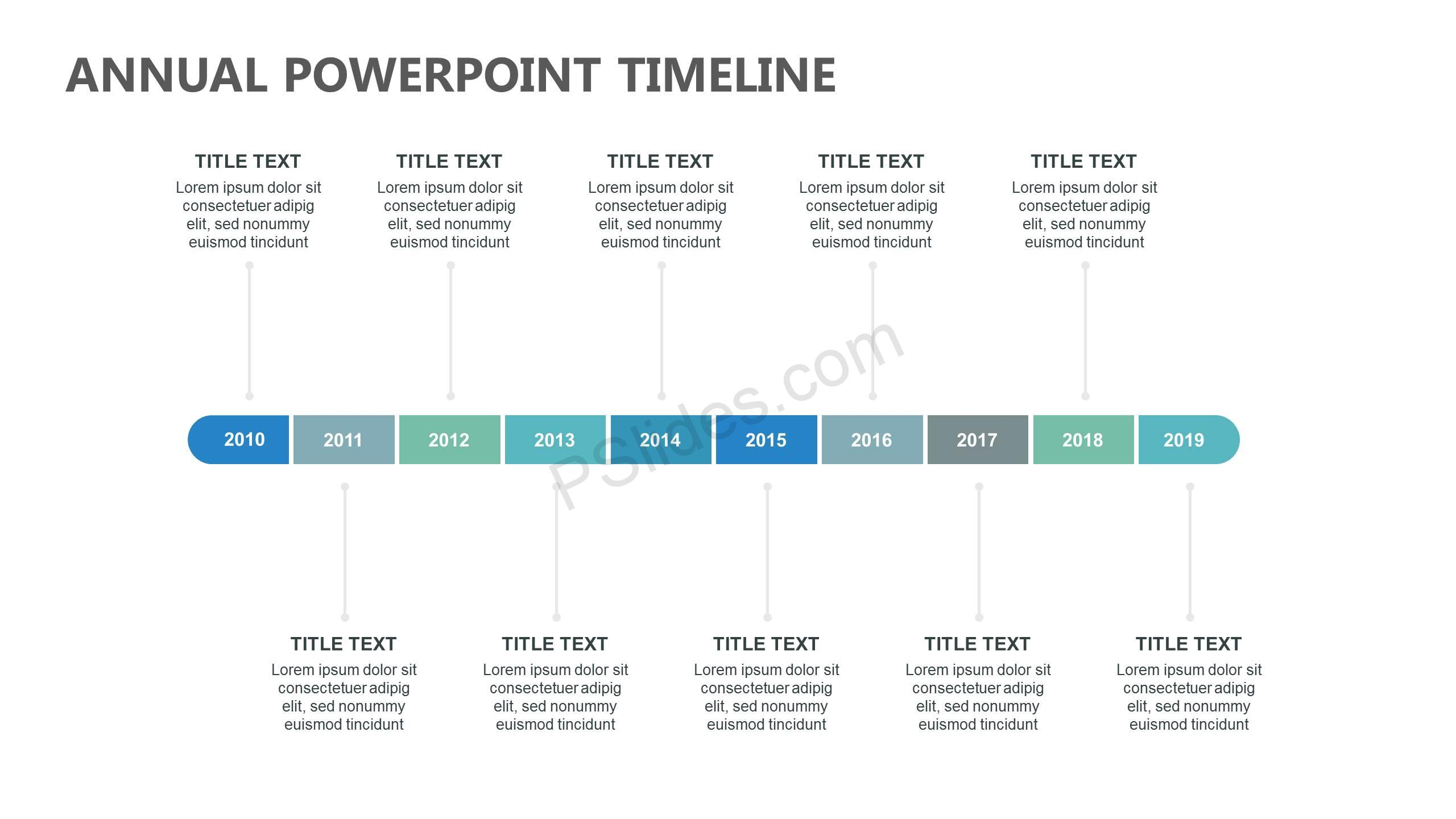 Annual-PowerPoint-Timeline-Slide1