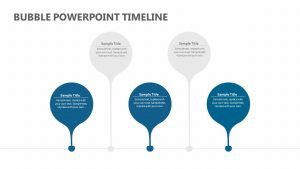 Bubble PowerPoint Timeline