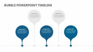 Bubble PowerPoint Timeline
