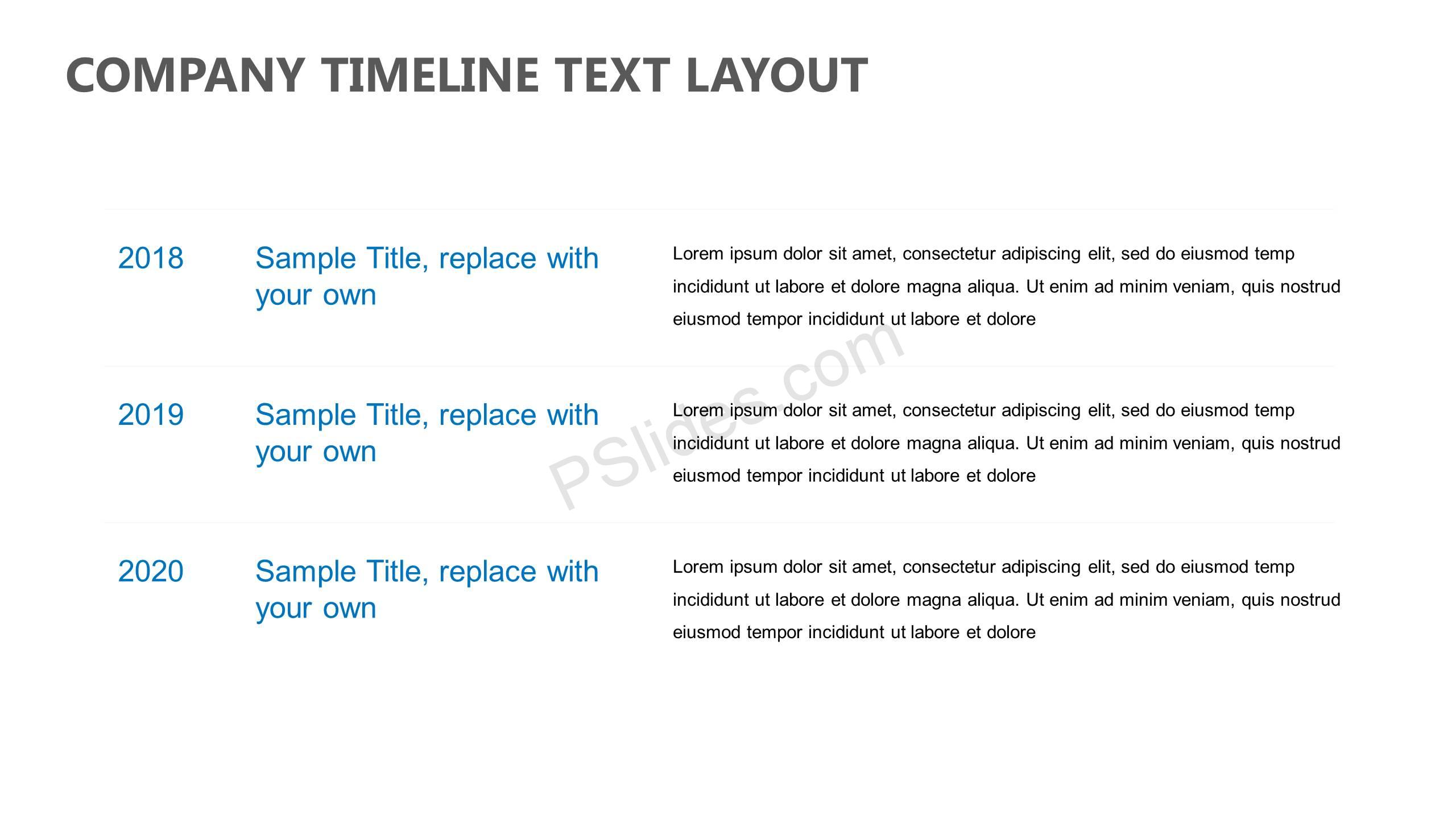 Company-Timeline-Text-Layout-Slide1