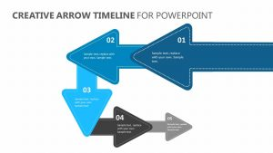 Creative Arrow Timeline for PowerPoint