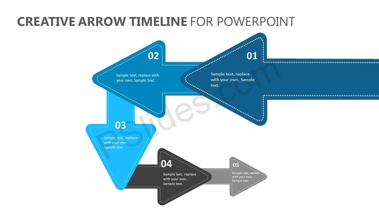 Creative-Arrow-Timeline-for-PowerPoint-Slide1