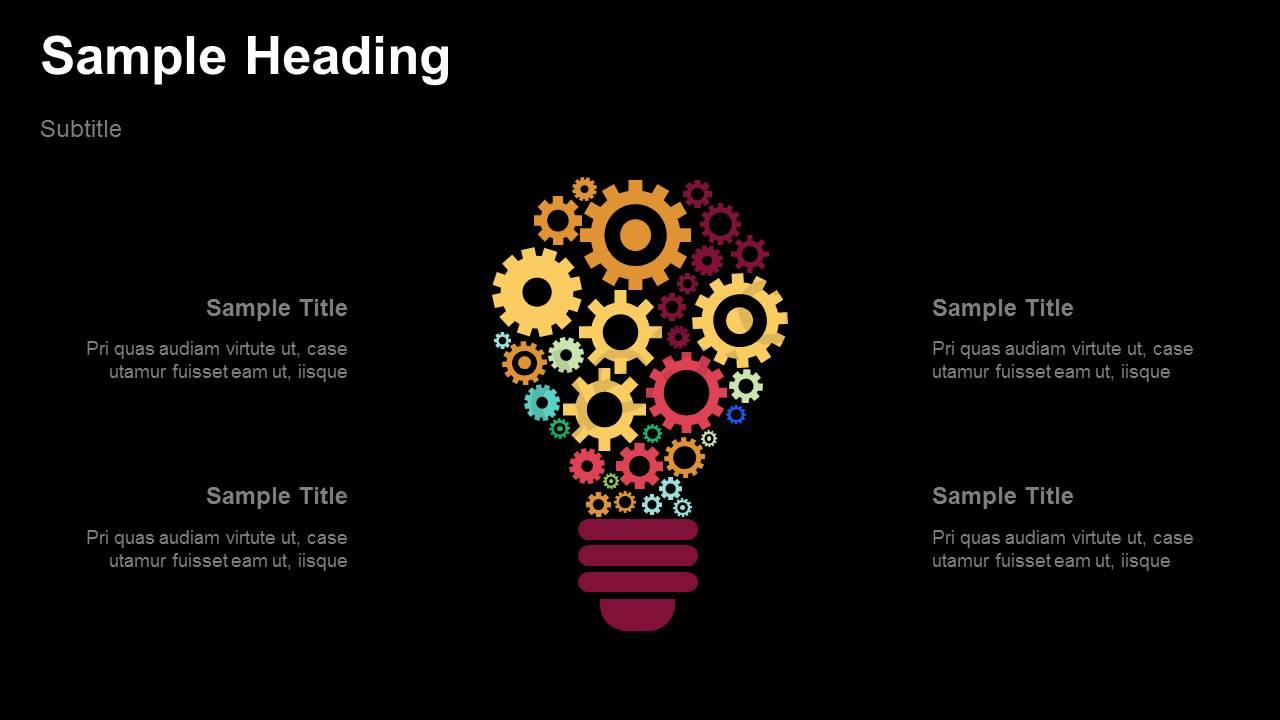 Light-bulb-Gears-PowerPoint-Diagram-Slide2
